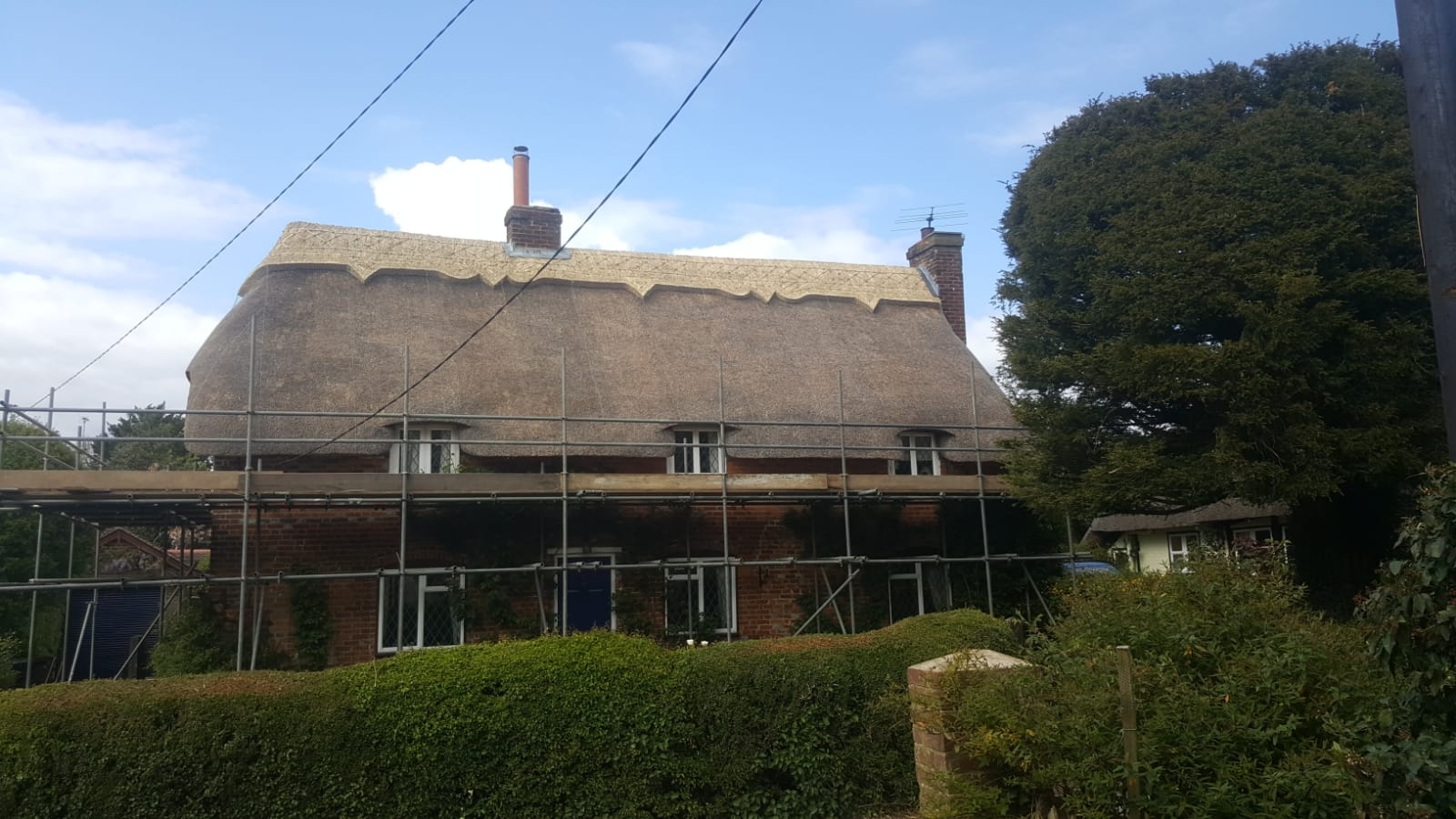 Full Re Thatch J Challis Master Thatcher Thatched Roof
